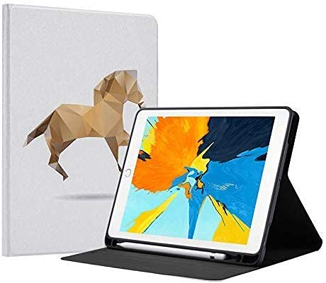 Gndy Funda para iPad Air 10.5 pulgadas/iPad Pro 10.5 pu cuero folio Flip Smart Case Cover soporte, con Auto Wake/Sleep