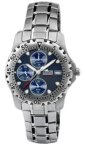 Reloj Lotus multifunción 15009-O