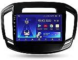 SONGYU Radio Estéreo de Coche Doble DIN para Opel Insignia 2013-2017, Navegación GPS Navegador Digital por satélite Reproductor Multimedia Receptor de Video Carplay DSP RDS (Tamaño: 2G + 32G)