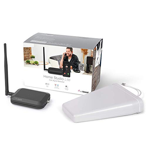 weBoost Home Studio Lite (470165) Cell Signal Booster Kit | Room or Apartment | Verizon and AT&T Only | FCC Approved (Renewed)