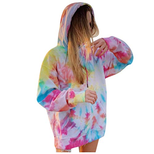 Fcostume Damen Hoodie Kapuzenpullover mit Kapuze Einfarbigen Pullovern Casual Winter Teddy-Fleece Langarm Oversize Sweatshirt Mantel Tops Mit Kapuze