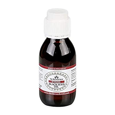 The Blessed Seed Strong Cold Pressed Black Seed Oil, 100ml