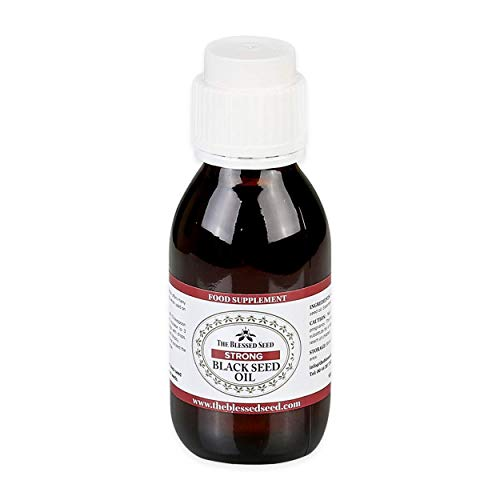 The Blessed Seed Strong Black Seed Oil - 100 Milliliter - 100 Percent Pure, Slow Cold Pressed Liquid, Premium Anti Oxidant and Health Supplement