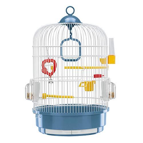 Ferplast Regina Cage à Oiseau Ronde Blanc 32,5 x 49 cm