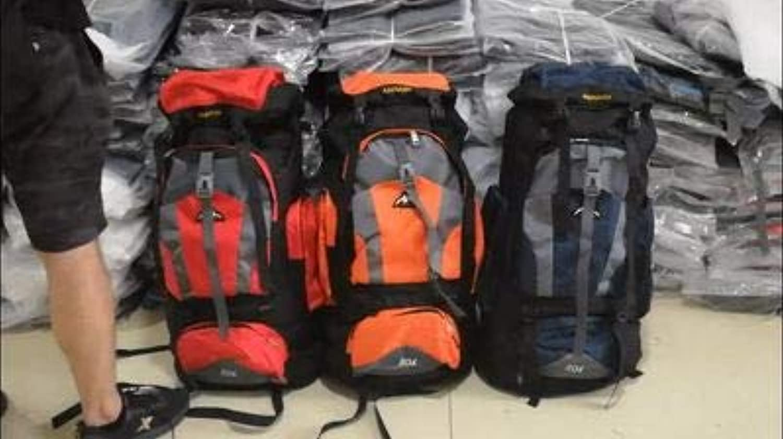 80 Liter Big Bag Male Capacity Large Camping Rucksack Backpack Outdoor Hiking Bag Light Waterproof Hiking Backpack