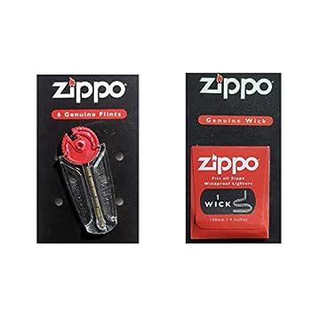 Zippo Wick + Flint Genuine