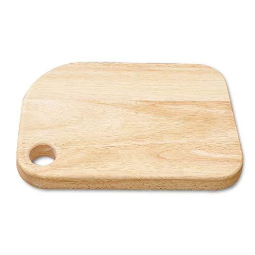 Oak Pizza Board Wood Serving Board Serveerschaal Met Handvatten En Opknoping Gaten For Hamburger Fruit Brood Dienblad Van De Cake