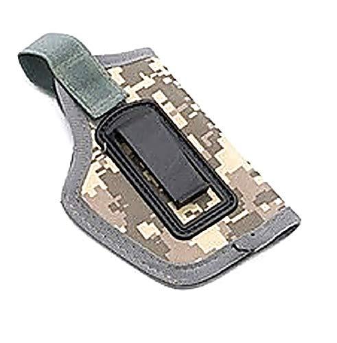Pistolera Pistola Airsoft Caza Cinturón Oculto Derecha Izquierda Camuflaje Gris