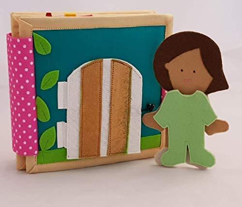 ChubbyCheeks Doll House Quiet Book