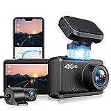 Best Car Dash Cameras - JOMISE Dual Dash Cam 4K&1080P Built in WiFi Review