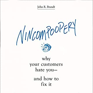 Nincompoopery audiobook cover art