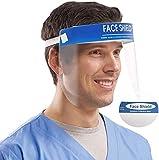 X10 Visiera Protettiva di Sicurezza Visiera Trasparente Coperchio Antinebbia Proteggi Gli Occhi e Il Viso per Cucina da Laboratorio all'aperto
