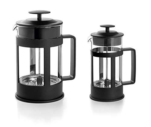 LACOR 62183 Cafetera Francesa Black, 3 Tazas, 0