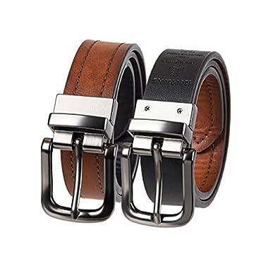 Columbia Boys' Big 1″ Wide Classic Reversible Belt