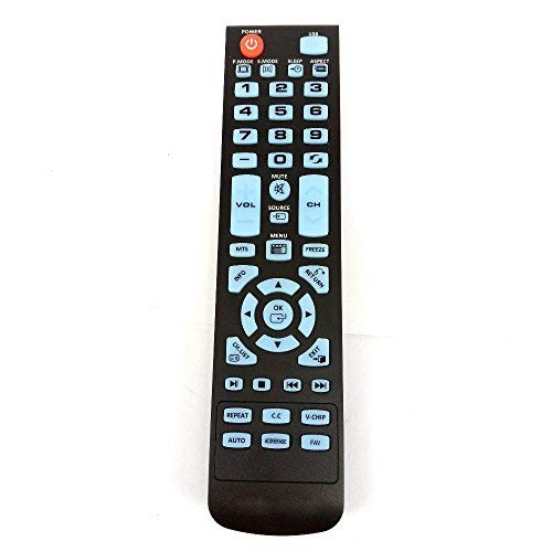 Fine Remote Remote Control Replacement for Element TV ELEFW195 ELEFT222 ELEFW247 ELEFW248 ELEFW328 ELEFT407 ELEFW504 ELEFW505 ELEFT506 ELEFW581