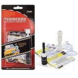 Wakauto 1 Set Kit de Reparación de Vidrio Automático DIY Kit de Reparación de Parabrisas Profesional de Plástico Profesional Duradero Conveniente Kit de Reparación de Parabrisas