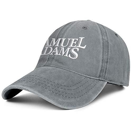 Man Woman Sam-Adams-Logo-Samuel-Adams- Hat Fashion Cowboy Cap Athletic Caps Denim