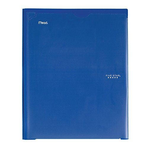 Five Star 2 Pocket Folder with Prong Fasteners, Folder with Pockets, Customizable Cover, Plastic, Color Selected for You, 1 Count (34136) Photo #6