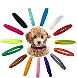 a ray of sunshine Collares Cachorros Perros,Collares para Cachorros de Perro,Collar de Perro,Collar para Mascotas,Collares de Identificación para Cachorro,Cachorro ID Collar Suave(15pcs)