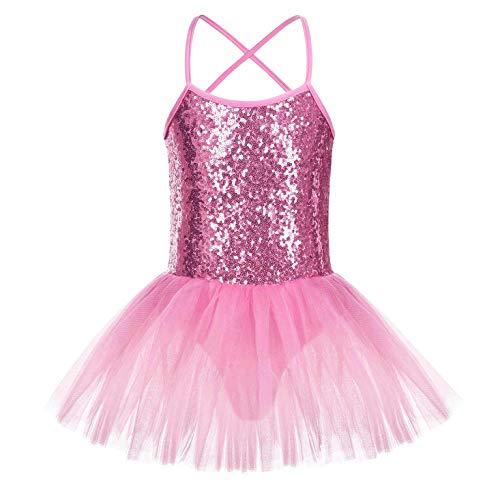 FONLAM Vestido Maillot de Ballet para Niña Vestido Danza Gi