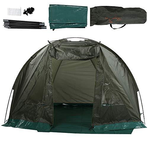 Ejoyous Kuppelzelt, 2 Mann Zelt Campingzelt Leichtes Wasserdichtes und Winddichtes Outdoor-Angelzelt mit Fenstern für Abenteuer-Picknick-Angelcamp 215 x 121 x 118 cm