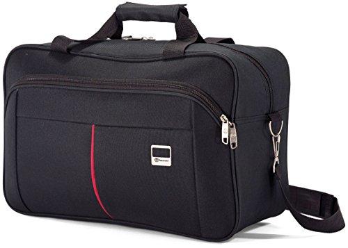 Benzi - Bolsa de Viaje BZ5206 (Negro/Rojo)