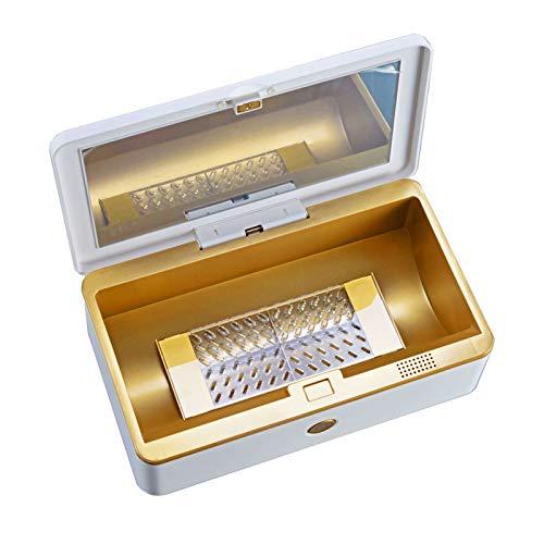 Huachaoxiang Caja De La Desinfección Múltiples Funciones, Portátil Teléfono Inteligente Esterilizador Ultravioleta...