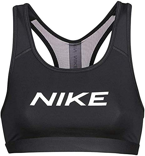 Nike Damen CJ0796-010 Sport-BH, Negro, L