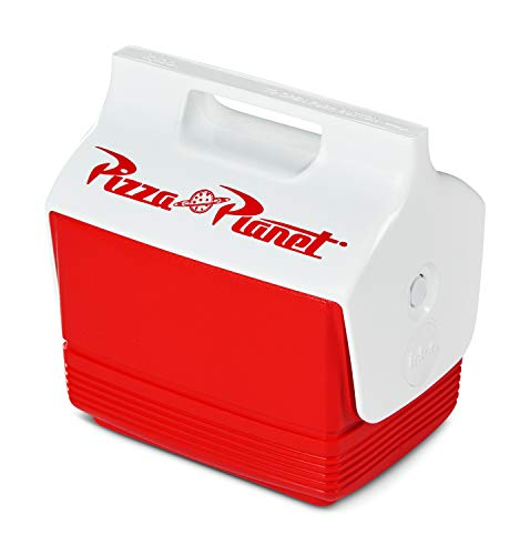 Igloo 4 Quart Limited Edition Toy Story Pizza Planet Portable Lunchbox Mini Playmate Cooler Ice Box, Small