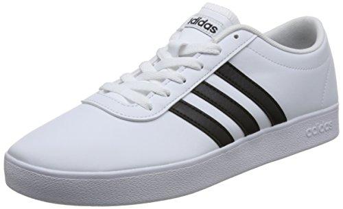 adidas Herren Easy Vulc 2.0 B43666 Skateboardschuhe, Weiß (Ftwbla/Negbás/Ftwbla 000), 44 2/3 EU