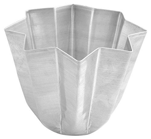 Habi 6261 Backform Pandoro, Aluminium, Grau