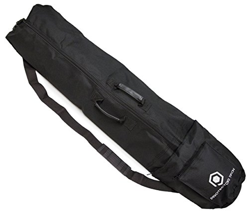 ProtectorTech Schutztasche Tasche Verkehr für Metalldetektor oder Mikrofon/Lautsprecher stehen - XL: 116