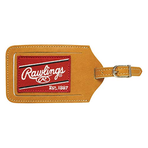 Rawlings Heart of the Hide Luggage Tag (Tan)
