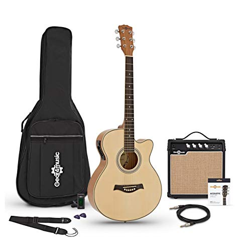 Guitarra Electroacústica Single Cutaway GEAR4MUSIC