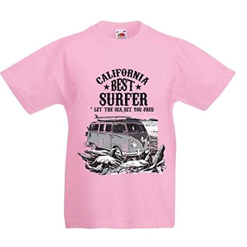 lepni.me Camiseta para Niño/Niña Mejor Surfista de...