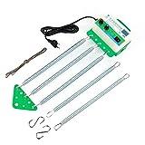 WMLBK - Balancín eléctrico para bebé, con muelle automático para hamaca de bebé, con temporizador ajustable, libera tus manos, estable, sin ruido, ahorra energía