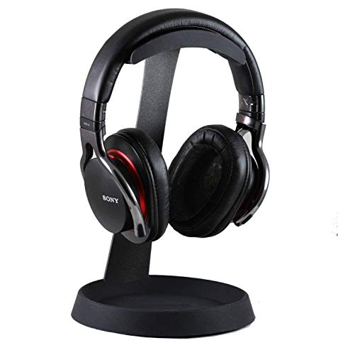 Navitech Steel On Ear & Over Ear Headphones Stand Compatible with The Beyerdynamic MMX300