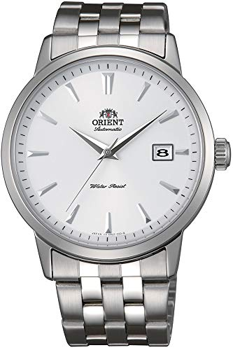 Orient Orologio Analogico Automatico Uomo con Cinturino in Acciaio Inox FER2700AW0
