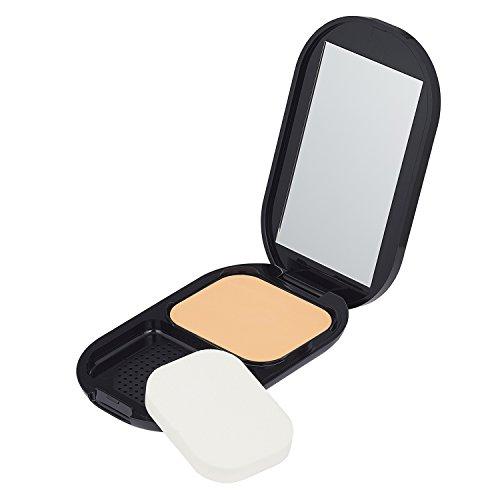 Max Factor Facefinity Compact Make-up Crystal Beige 33 – Puder Foundation für ein mattes Finish – 1 x 10 g