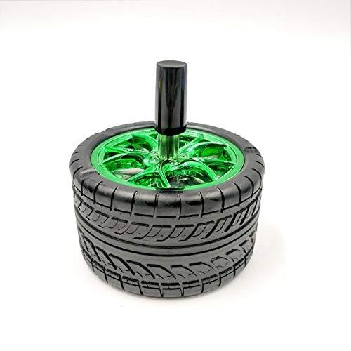 Neumáticos para automóviles Cenicero Prensa Rotary Fashion Display Hogar Cenicero Cenicero Ceniceros...
