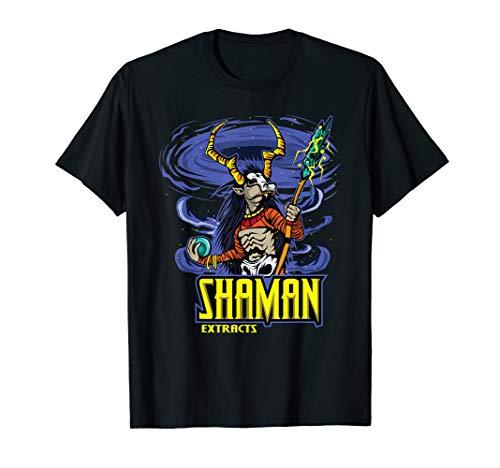 Schamane T-Shirt - Cooles schamanisch Zauberer Tee Mandala T-Shirt