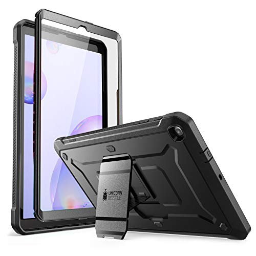 SUPCASE [Unicorn Beetle Pro] Designed for Galaxy Tab A 8.4 Case 2020, with Built-in Screen Protector Full-Body Rugged Heavy Duty Case for Galaxy Tab A 8.4 SM-T307 2020 Release (Black)