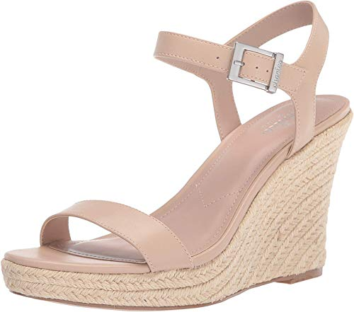 CHARLES BY CHARLES DAVID womens Wedge Sandal Platform, Nude, 7.5 US