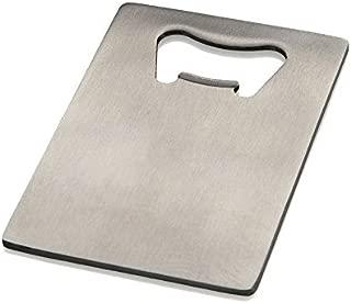 CJESLNA Credit Card Bottle Opener for Your Wallet - Stainless Steel