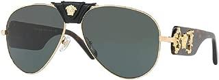 VE2150Q Pilot Sunglasses For Men For Women+FREE Complimentary Eyewear Care Kit