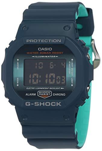 Casio Digital Blue Dial Men's Watch-DW-5600CC-2DR (G905)