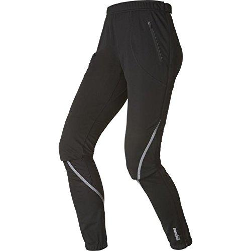 Odlo Pants Nagano Windstopper Pantalon Femme, Noir, XL