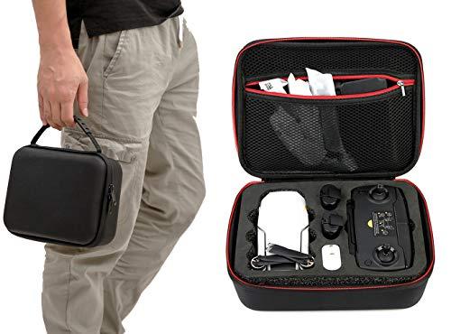 Rantow Valigia da Viaggio Custodia Rigida Borsa a Tracolla per DJI Mavic Mini Drone Scatola da Trasporto - Negozio per Drone, Controller, Batteria, eliche, Cavo USB-C per Scheda SD