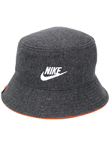 Nike W NSW Bucket JDIY Women's Bucket Hat CQ9221-032 Black Heather