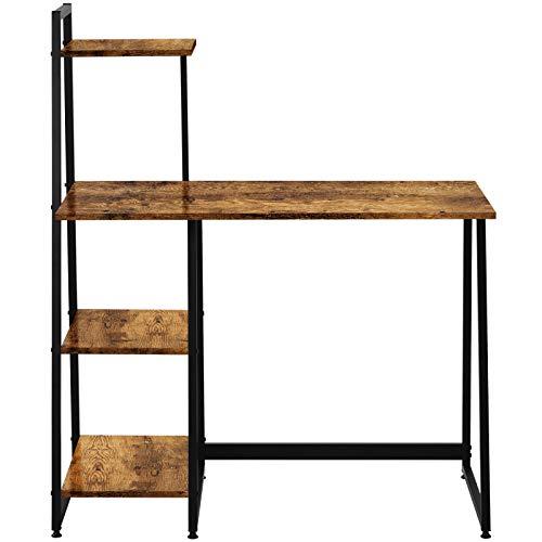 Escritorio de ordenador portátil mesa de oficina escritorio de estudio simple escritorio para el hogar oficina estilo industrial para espacios pequeños hogar oficina estación de trabajo